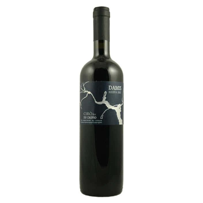 vino-rosso-cirò-doc-damis-riserva-du-cropio-