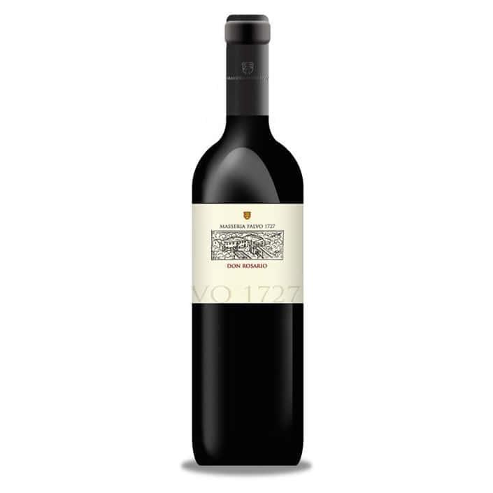 vino-rosso-don-rosario-masseria-flavio