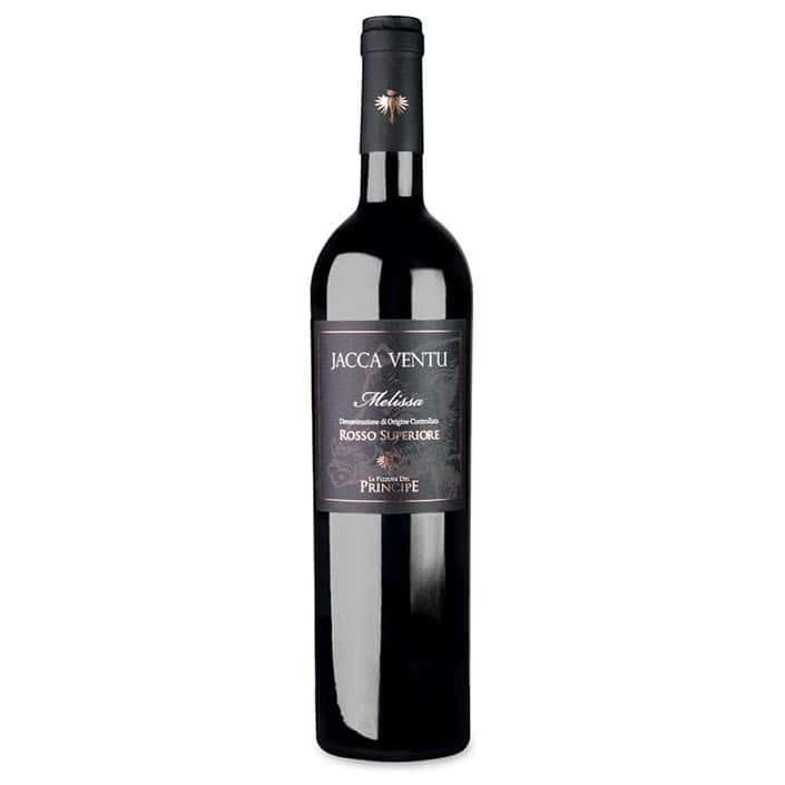 vino-rosso-jacca-ventu-superiore-pizzuta-del-principe