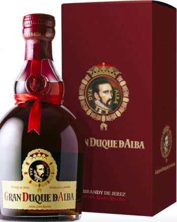 gran duque d alba brandy de jerez solera gran reserva vendita online distillati 70cl 350x438 - Brandy Gran Duque d'Alba Solera Gran Reserva