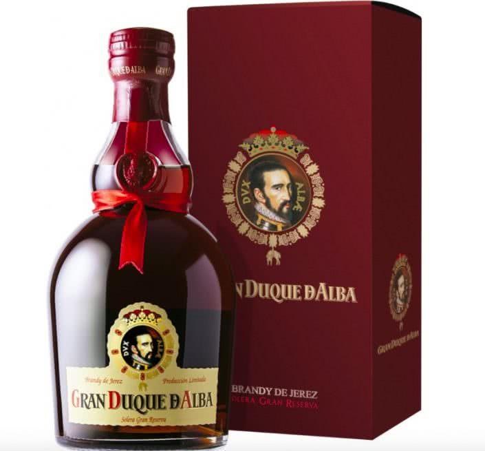 gran duque d alba brandy de jerez solera gran reserva vendita online distillati 70cl 705x655 - Brandy Gran Duque d'Alba Solera Gran Reserva