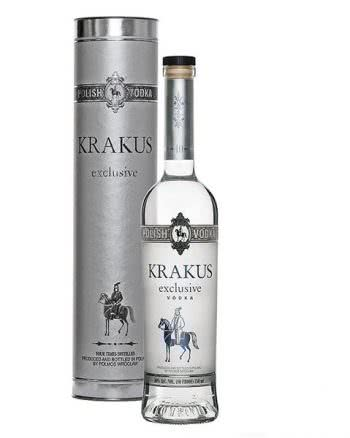 org 54753 8291 krak USA tuba male 350x438 - Vodka Krakus Exclusive 70 cl