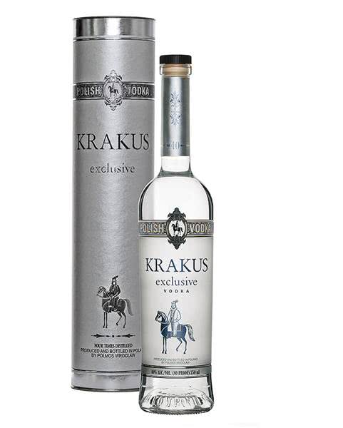 org 54753 8291 krak USA tuba male - Vodka Krakus Exclusive 70 cl