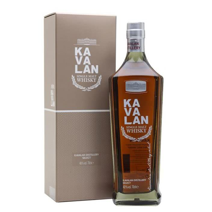 Kavalan Distillery Select Single Malt Whisky