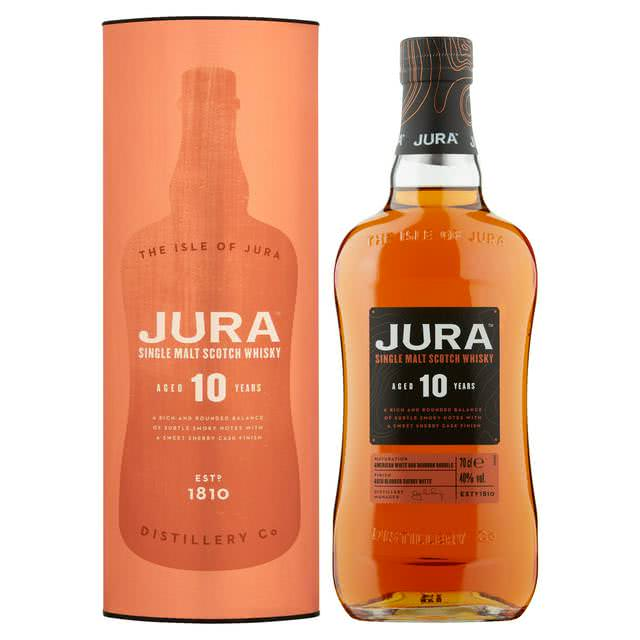 640x640 - Jura 10 Year Old Single Malt Whisky