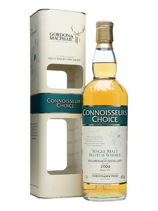 Connoisseurs Choice Balmenach Single Malt Scotch Whisky2004 Gordon & MacPhail