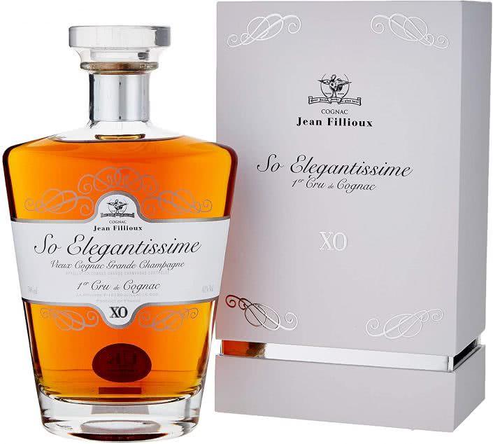 81viLRLKiwL. AC SL1500  705x634 - Cognac SO Elegantissime X.O. JEAN FILLIOUX 70 Cl