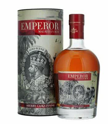 Emperor Mauritian Rum Sherry Finish 07l alc 40 350x400 - Emperor Sherry Casks Finish Mauritian Rum