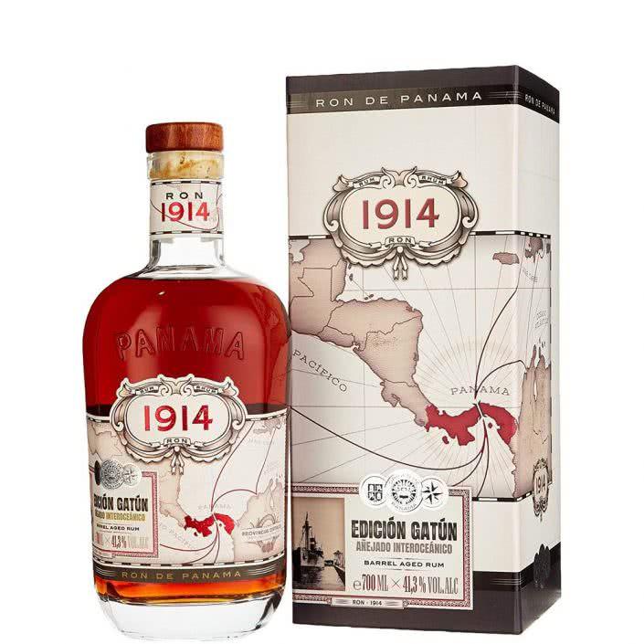 Rum Ron Panama Edition Gatun 1914 70 Cl in Astuccio extra big 25941 423 705x705 - Ron de Panama 1914 edicion gatun barrel aged rum in astuccio
