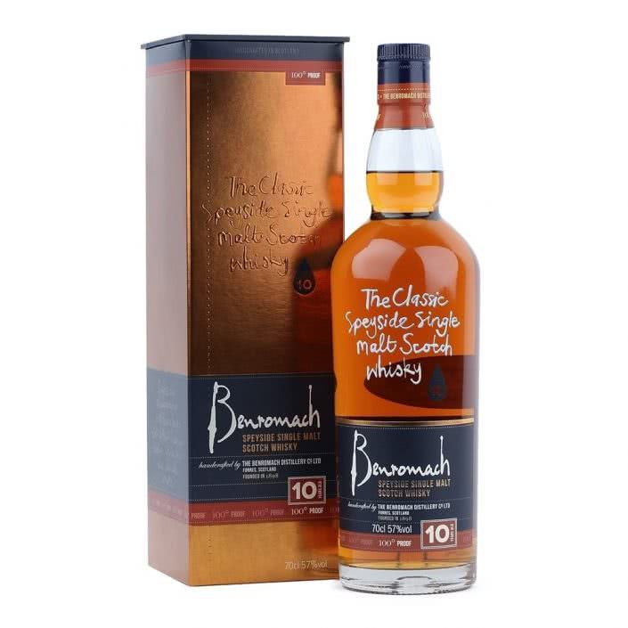 benromach 10 year old 100 proof p324 7026 image 705x705 - Whisky Single Malt Benromach 10 Anni