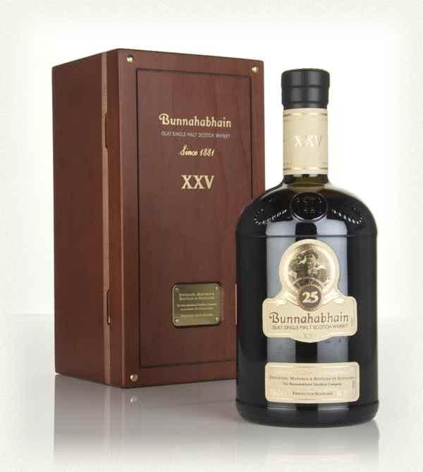 bunnahabhain 25 year old old bottling whisky - Bunnahabhain 25 Anni