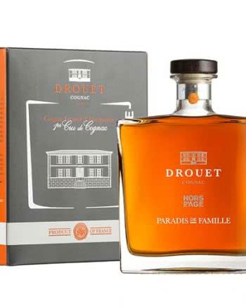 drouparadise 350x438 - Drouet Cognac Hors d'Age Paradis de Famille