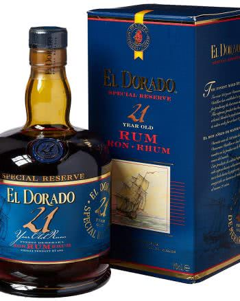 el dorado 21 350x438 - El Dorado Rum 21 anni