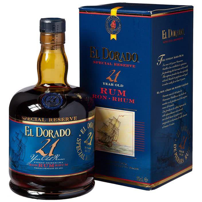 El Dorado Rum 21 anni