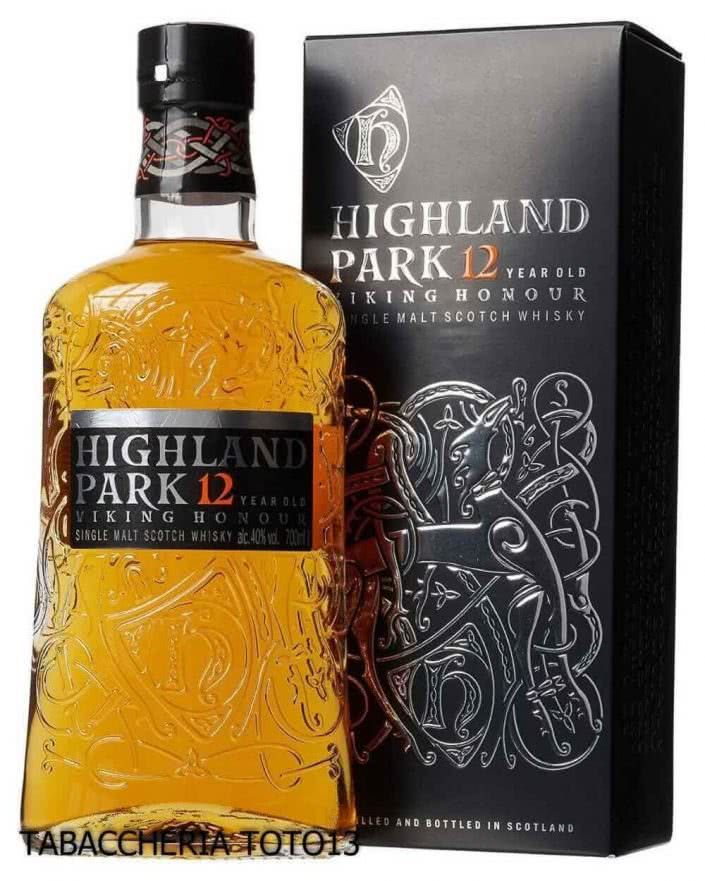 highland park whisky 12 yogently smoky and sweet vol40 cl70 705x881 - Highland Park 12 Years