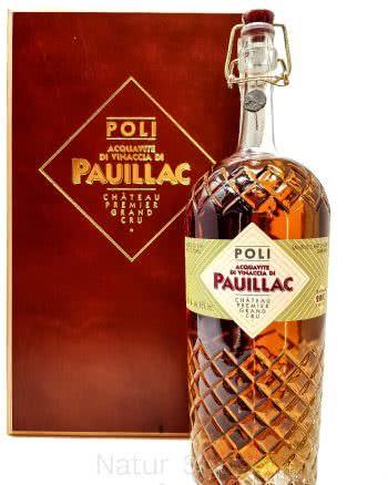poli pauillac acquavite di vinaccia 2007 italia 75cl 46 vol 350x438 - Acquavite di vinaccia di uve francesi LA PREMIÈRE
