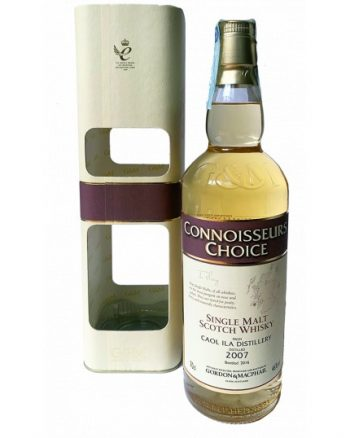 single malt scotch whisky caol ila distillery 2007 700 ml gordon macphail 350x438 - Gordon & Macphail Connoisseurs Choice Caol Ila 2007