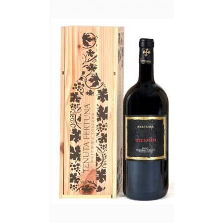 tenuta fertuna maremma toscana messiio edizione limitata anniversario cassa di legno magnum 1494379 s504 e - Messiio Maremma Toscana DOC Tenuta Fertuna Magnum Lt 1,5