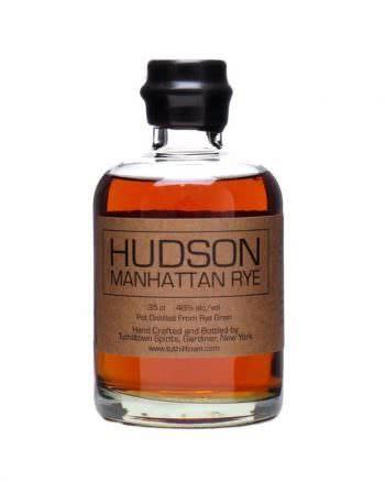 whisky hudson manhattan rye 350x438 - Hudson Manhattan Rye Whiskey 35cl