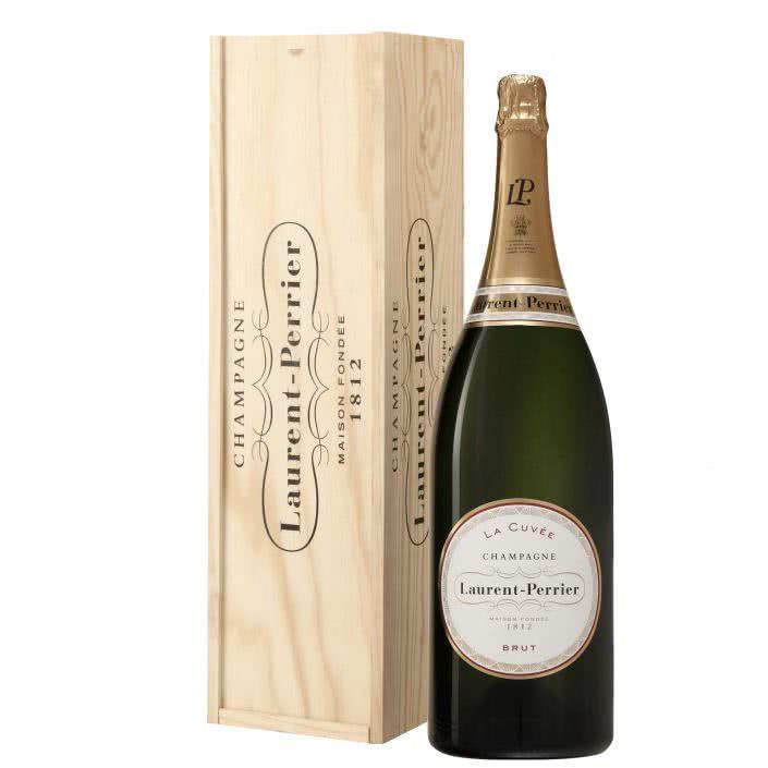 Laurent magnum 1 705x705 - Champagne Laurent Perrier Magnum cassa legno