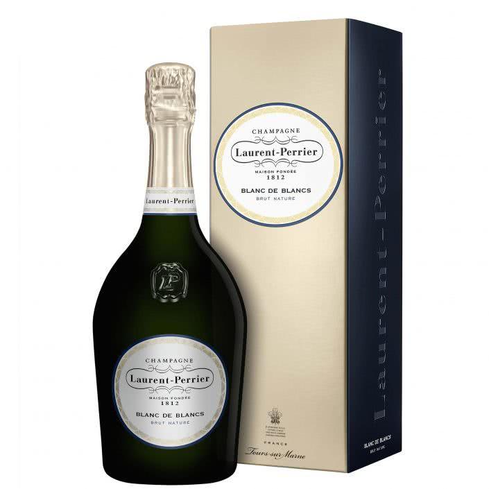 laurent blanc 705x705 - Champagne Laurent Perrier Brut Nature Blanc de Blancs