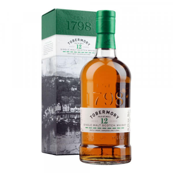 tobermory 12 year whisky 70cl - Tobermory Single Malt Scotch Whisky 12 Years Old