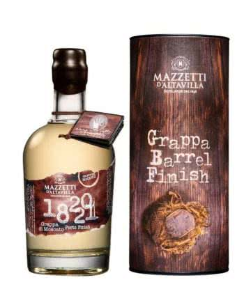 1820 21 Grappa Di Moscato Porto Mazzetti d Altavilla 350x438 1 - 1820-21 Grappa di Moscato Special Cask Finish