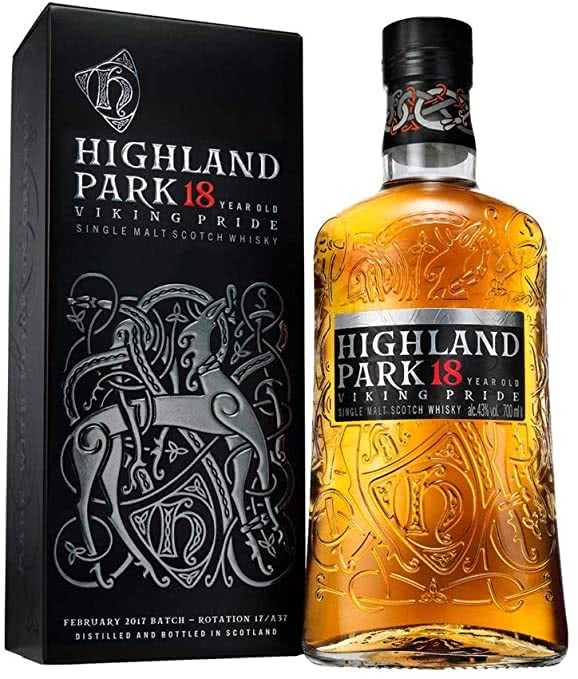 6124Nkk2KuL. AC SY679  - Highland Park 18 Anni Old Single Malt Scotch Whisky