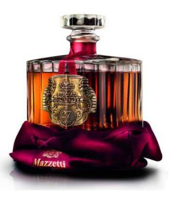 SPECIAL BRANDY in panno 2016 510x491 1 350x438 - Brandy Invecchiato 27 Anni Mazzetti