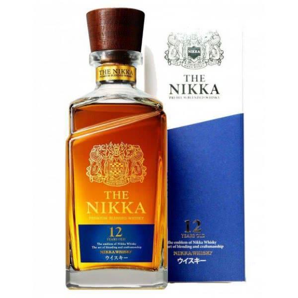 Whisky Nikka 12 Ans 600x600 1 - Nikka Whisky Blended Japanese 12 Years Old