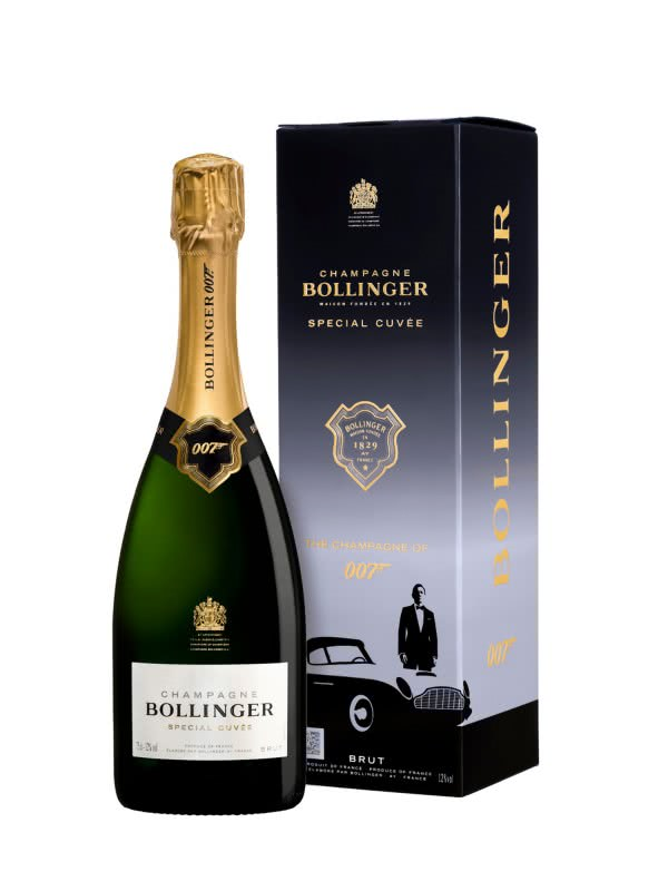 "Bollinger Champagne Special Cuvee ""007 Limited Edition"""