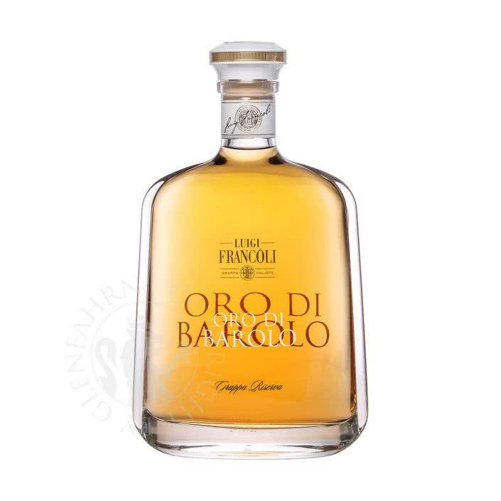 Oro di Barolo Grappa Riserva Luigi Francoli