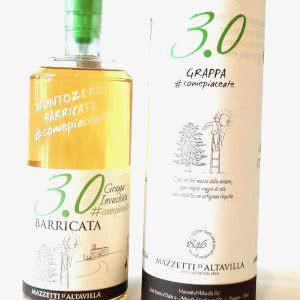 Mazzetti D'Altavilla 3.0 Barricata Grappa Invecchiata