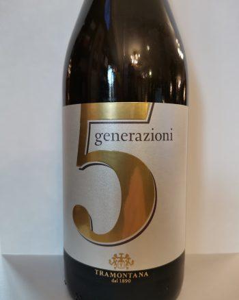 5 Generazioni Bianco Tramontana